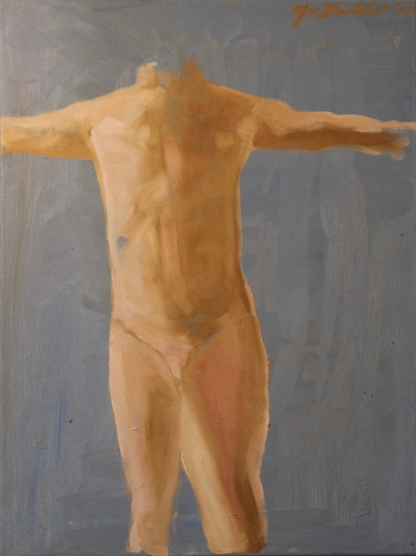 nude, figure, classical, neoclassical period, noe badillo, male nude figure painting, anatomy and art, academic study painting, oil sketch